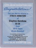 Clayton Kershaw /55 [REDEMPTION Being Redeemed]