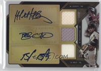 Brandon Crawford, Brandon Belt, Matt Duffy /36