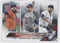 Dallas Keuchel, Collin McHugh, David Price