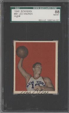 1948 Bowman #68 - Lee Knorek [SGC88]