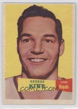 1957-58 Topps - [Base] #6 - George King