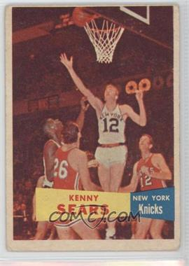 1957-58 Topps - [Base] #7 - Kenny Sears
