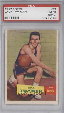 1957-58 Topps #71 - Jack Twyman [PSA9(MC)]