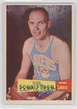 1957-58 Topps #80 - Dick Schnittker