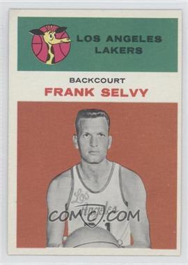 1961-62 Fleer - [Base] #40 - Frank Selvy