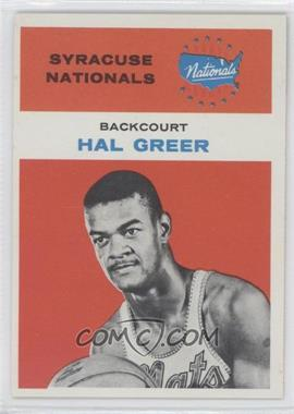 1961-62 Fleer #16 - Hal Greer