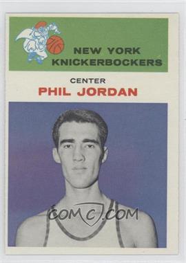 1961-62 Fleer #24 - Phil Jordan