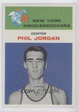 1961-62 Fleer #24 - Phil Jordon