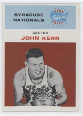 1961-62 Fleer #25 - John Kerr