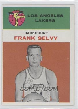 1961-62 Fleer #40 - Frank Selvy
