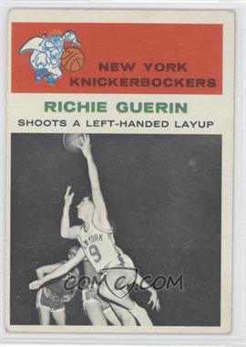 1961-62 Fleer #52 - Richie Guerin
