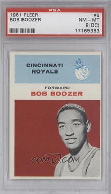 1961-62 Fleer #6 - Bob Boozer [PSA8(OC)]