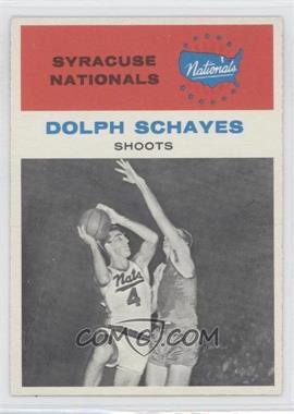 1961-62 Fleer #63 - Dolph Schayes