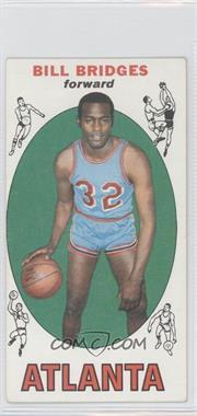 1969-70 Topps - [Base] #86 - Bill Bridges