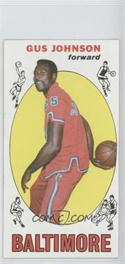1969-70 Topps #12 - Gus Johnson