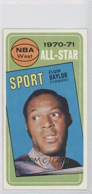 1970-71 Topps - [Base] #113 - Elgin Baylor