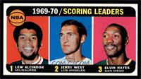 Kareem Abdul-Jabbar, Jerry West, Elvin Hayes [EX MT]