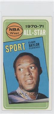1970-71 Topps #113 - Elgin Baylor