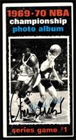 1969-70 NBA Championship (Game 1) [Must Be Authenticated]