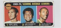 Jerry West, Kareem Abdul-Jabbar, Elvin Hayes [Poor to Fair]
