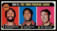 Flynn Robinson, Chet Walker, Jeff Mullins [EX]