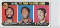 Flynn Robinson, Chet Walker, Jeff Mullins