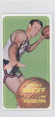 1970-71 Topps #57 - Darrall Imhoff
