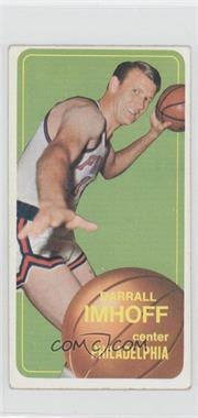 1970-71 Topps #57 - Darrall Imhoff [GoodtoVG‑EX]