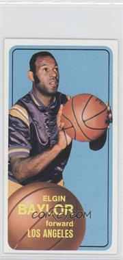1970-71 Topps #65 - Elgin Baylor