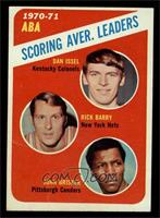ABA Scoring Aver. Leaders (Dan Issel, Rick Barry, John Brisker) [VG]