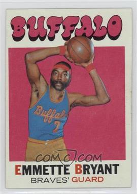 1971-72 Topps - [Base] #48 - Em Bryant