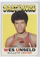 Wes Unseld [Good to VG‑EX]