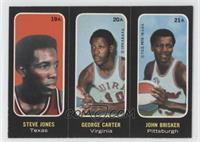 Steve Jones, George Carter, John Brisker