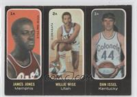 Willie Wise, Dan Issel, Jimmy Jones [Good to VG‑EX]
