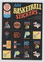 ABA Team Logos