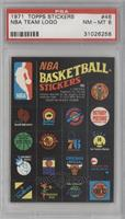 NBA Team Logos [PSA8]
