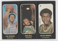 Lou Hudson, Bob Rule, Calvin Murphy [Good to VG‑EX]