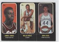 Willie Wise, Dan Issel, Jimmy Jones