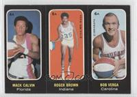 Mack Calvin, Roger Brown, Bob Verga [Good to VG‑EX]