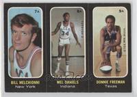 Mel Daniels, Donnie Freeman, Bill Meggett