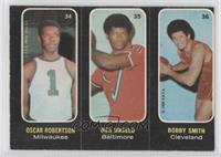 Oscar Robertson, Wes Unseld, Bobby Smith [Good to VG‑EX]