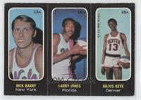 Rick Barry, Larry Jones, Julius Keye [Good to VG‑EX]
