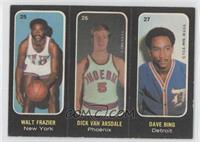 Walt Frazier, Dick Van Arsdale, Dave Bing [Good to VG‑EX]