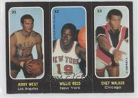 Willis Reed, Chet Walker