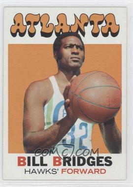 1971-72 Topps #132 - Bill Bridges