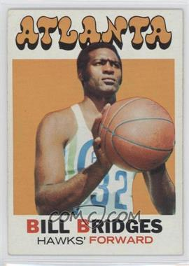 1971-72 Topps #132 - Bill Bridges