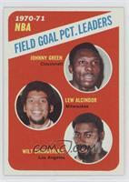 Johnny Green, Kareem Abdul-Jabbar, Wilt Chamberlain
