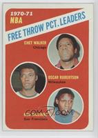 Chet Walker, Oscar Robertson, Ron Williams