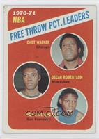 Chet Walker, Oscar Robertson, Ron Williams [Good to VG‑EX]