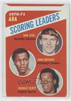 Dan Issel, John Brisker, Charlie Scott [Good to VG‑EX]